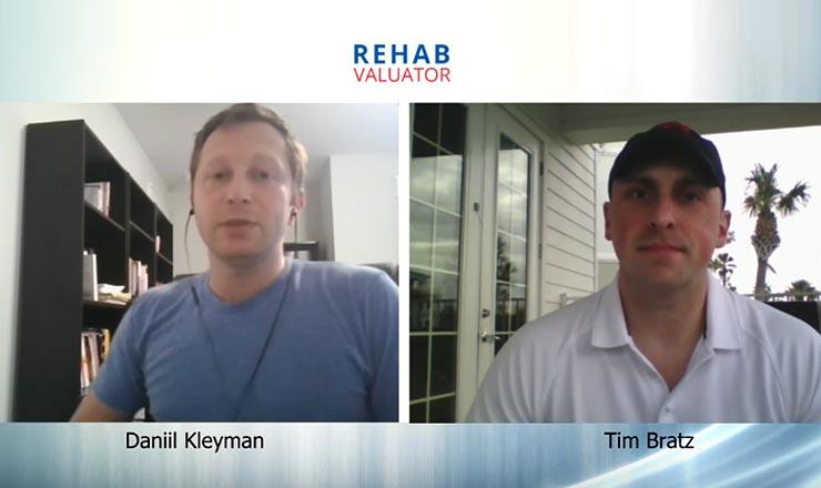 Tim Bratz Discusses Apartment and Multi-Family Investing with Rehab Valuator and Daniil Kleyman