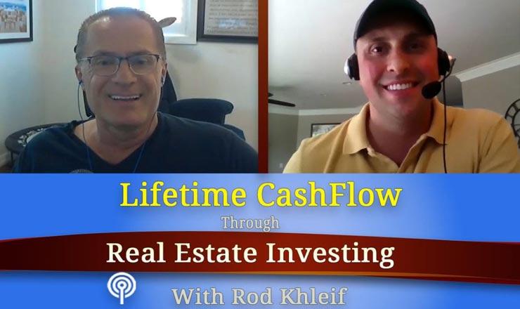 Tim Bratz interviewed on The Lifetime Cash Flow Through Real Estate Investing Podcast